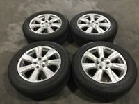 19'' GENUINE LAND ROVER DISCOVERY 4 ALLOY WHEELS TYRES ALLOYS RANGE SPORT 3 VOGUE