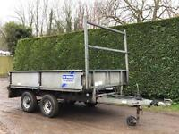 Ifor Williams LT dropside trailer with ramps