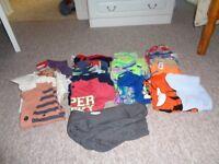 bundle of boys clothes 2-3 yrs