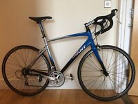 Giant Defy Blue/Silver - M/L (approx. 56cm) - Great Condition