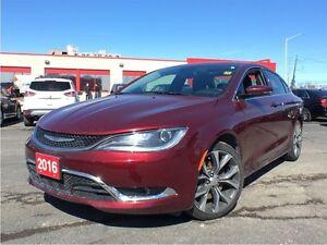 2016 Chrysler 200 C**LEATHER**NAVIGATION**SUNROOF**BACK UP CAMER