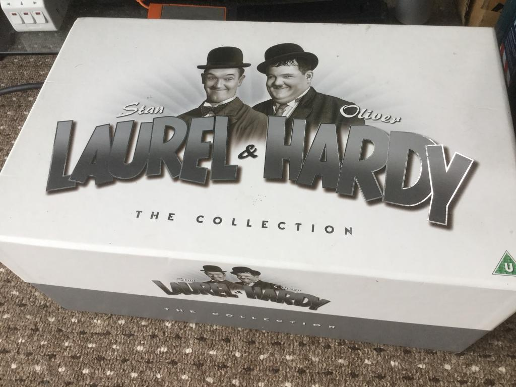 Laurel & hardy and complete box set boxset b&w films digitally ...