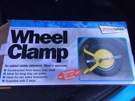 Wheel clamp by Streetwize