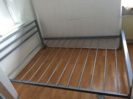 Double Bed metal Frame kingsize for quick sale