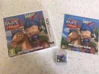 Mike The Knight 3DS 2ds Game preschool toddler nintendo cbeebies