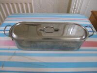 Large Stainless Steel Fish Poaching Pan Weymouth Free Local Delivery