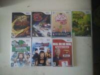 Wii Games x 7