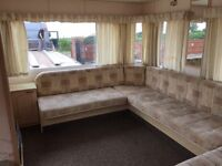 Static caravan to rent £150 per week electric and water included in price