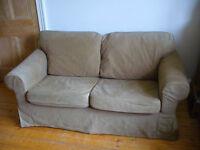 IKEA Ektorp sofa, brown. Very good condition