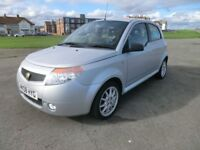 Proton Savvy , in silver , very smart all round 39000 miles , NEW MOT , drives fault free