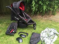 Obaby double tandem sport buggy