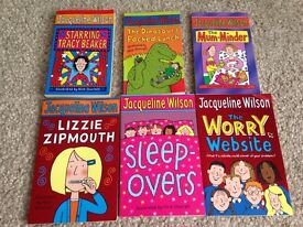 Jacqueline Wilson Books - assorted