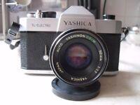 Yashica SLR Film Camera