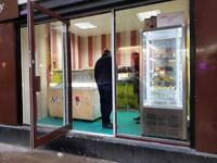 Ice cream and milkshake bar business for sale in Piccadilly london £8500