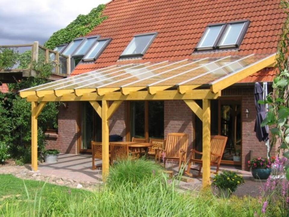 Terrassendach Carport Terassendach Stegplatten Wintergarten Holz in Nordrhein-Westfalen - Grevenbroich
