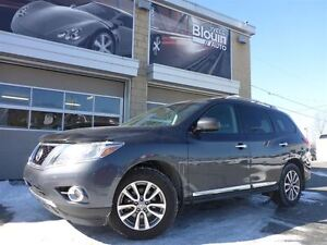 2014 Nissan Pathfinder SL, AWD, 59755km, Cuir, 7 passagers