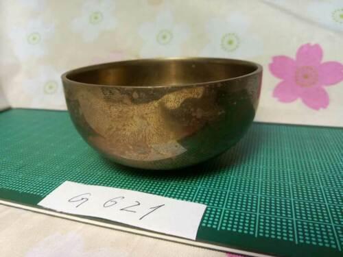 "2.972"" Japanese Vintage Buddhist Bell G621 Orthodox Sound Quality"