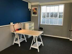 Desk space to rent in shared office