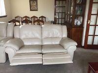 Furniture. Recliner sofa six seater.