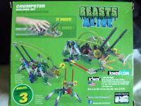K'nex Building set 34482 - Beasts Alive - Chompster (3 in 1) 7+