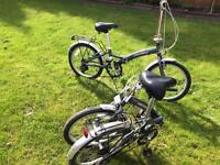 2 PROBIKE FOLDING BIKE IDEAL FOR CAMPING ETC