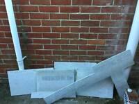 Tile backer board offcuts
