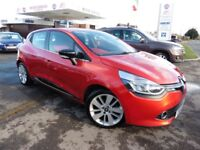 Renault Clio DYNAMIQUE S MEDIANAV ENERGY DCI S/S (red) 2014
