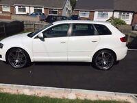Audi A3 ,White, Low Milage , FASH.