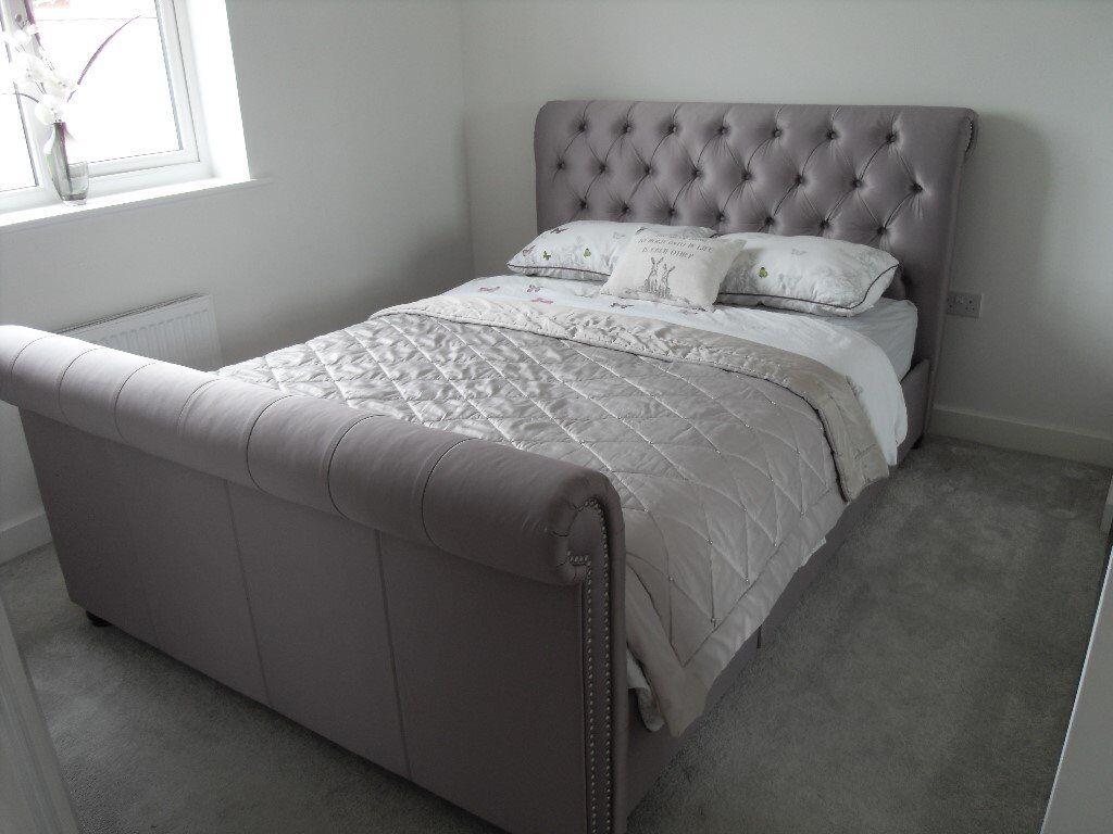 Beautiful Next Westcott King Size Bed Frame with Storage ...