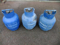 3 x Empty 4.5 Kg Calor Gas Bottles - or selling individually