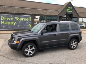 2016 Jeep Patriot High Altitude / 4X4 / LEATHER / SUNROOF
