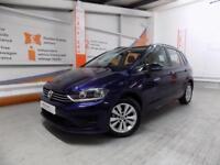 Volkswagen Golf SV SE TDI DSG (blue) 2017-06-21