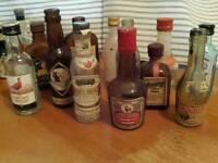 Minature bottles