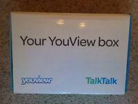 TalkTalk Youview Set top box, as new