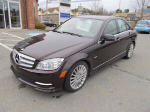 2011 Mercedes-Benz C-Class C250 4MATIC AWD $175 B/W - LOW KMS
