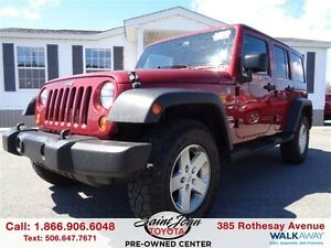 2013 Jeep WRANGLER UNLIMITED Sport $238.64 BI WEEKLY!!