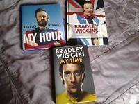 3 books on BRADLEY WIGGINS.