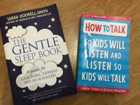 Parenting Books - The Gentle Sleep Book & How to Talk so Kids will Listen
