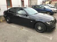 "Bmw 17"" AEZ Valencia Black alloy wheels"