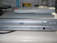 matsui dvd player with remote plays copies