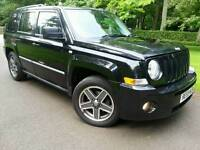 JEEP PATRIOT 2.0 CRD LIMITED EDITION 2009 59'REG*TOP SPEC*LEATHER*H/SEATS*SUPERB CONDITION*#4X4#SUV