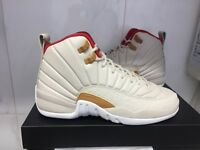 Authentic New Air Jordan 12 Retro CYN GG Off white/Cream Colour Size 5Uk Unisex. Sold Out Everywhere