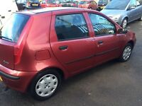 LOW MILEAGE FIAT PUNTO ACTIVE MOT TILL 03/11/2017 GOOD CONDITION