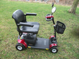 GOGO ELITE TRAVELLER PLUS mobility scooter, 23 stone user weight, good condition