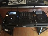 Xdj1000's, djm750 mixer, sdj60x speakers & hdj1500 headphones