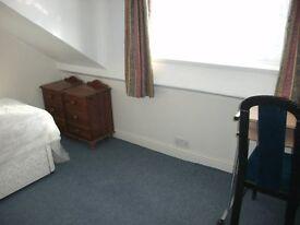 attic single room drewry lane furnished £60 per week inc bills nr town/hospital/uni bus route