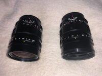 Pare of two f0.95 Voigtländer MFT Lenses