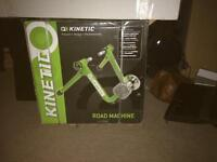 Kinetic turbo trainer (road machine) bundle