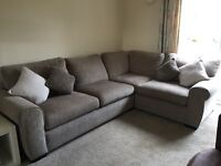 Corner sofa/sofa bed - good condition (18 months old0