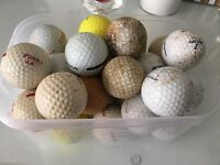 Job Lot of Golf Balls